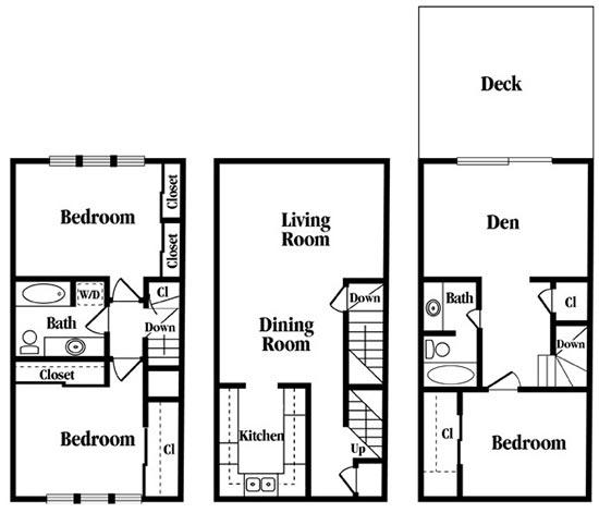 3 Bedrooms 2 Bathrooms Apartment for rent at Rollingwood in Vestavia Hills, AL