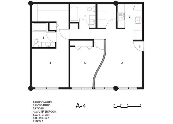 2 Bedrooms 2 Bathrooms Apartment for rent at Cadillac Lofts in San Antonio, TX