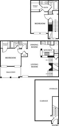 2 Bedrooms 2 Bathrooms Apartment for rent at Ventana Apartments in San Antonio, TX