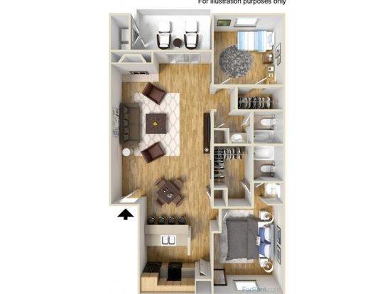 2 Bedrooms 2 Bathrooms Apartment for rent at Mesa Ridge in San Antonio, TX