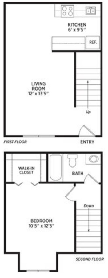 1 Bedroom 1 Bathroom Apartment for rent at Olde Farm Apartments in East Lansing, MI