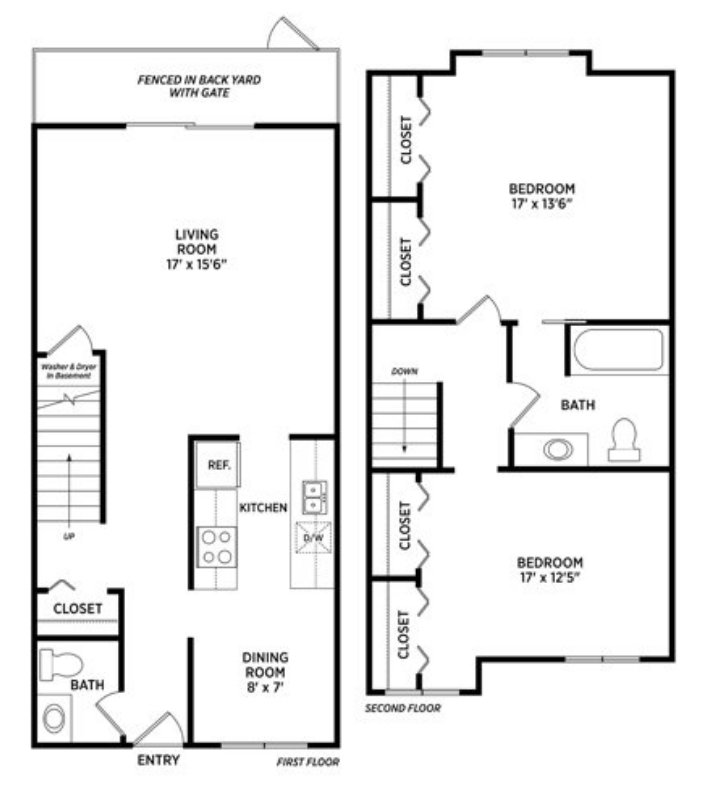 2 Bedrooms 2 Bathrooms Apartment for rent at Carriage Hill East in East Lansing, MI