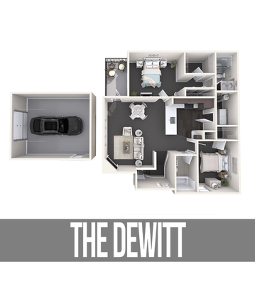 2 Bedrooms 2 Bathrooms Apartment for rent at The Quarry Apartments in Dewitt, MI