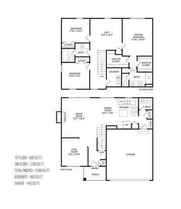 4 Bedrooms 2 Bathrooms Apartment for rent at Aspen Lakes Estates in Holt, MI