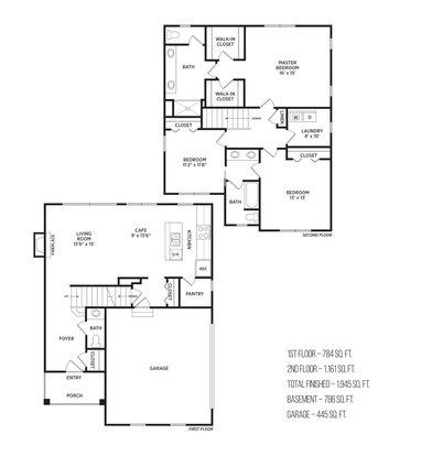 3 Bedrooms 2 Bathrooms Apartment for rent at Aspen Lakes Estates in Holt, MI