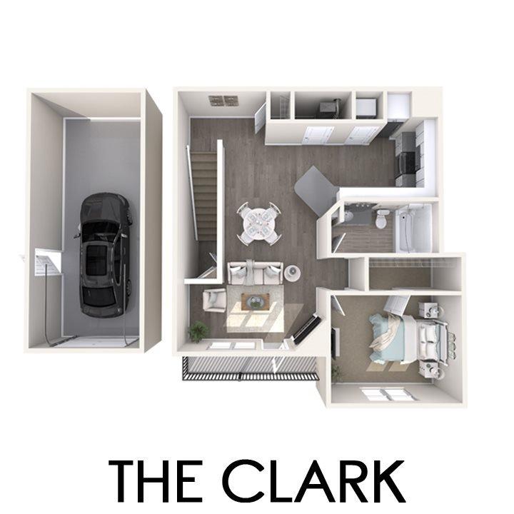 1 Bedroom 1 Bathroom Apartment for rent at The Quarry Apartments in Dewitt, MI