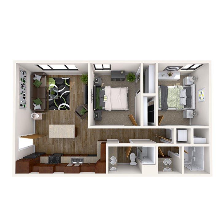 Cedar Apartments: Cedar Village Apartments East Lansing, MI