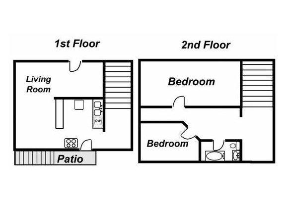 2 Bedrooms 1 Bathroom House for rent at 314 Oakhill Dr. in East Lansing, MI
