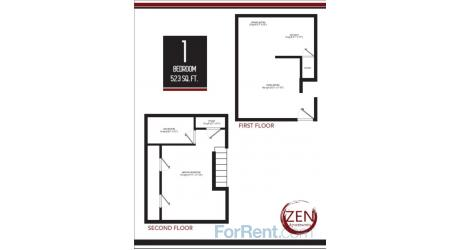 1 Bedroom 1 Bathroom Apartment for rent at Zen Gardens in Arlington, TX