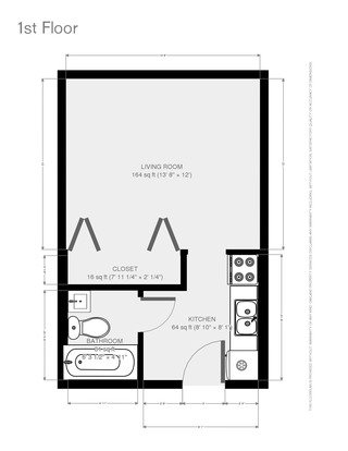 Studio 1 Bathroom Apartment for rent at Courtside Apartments in Madison, WI