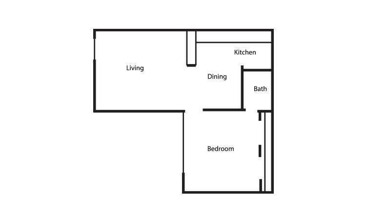 1 Bedroom 1 Bathroom Apartment for rent at Equinox in Arlington, TX