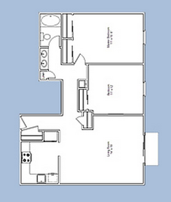 2 Bedrooms 1 Bathroom Apartment for rent at The Wynds in Kettering, OH