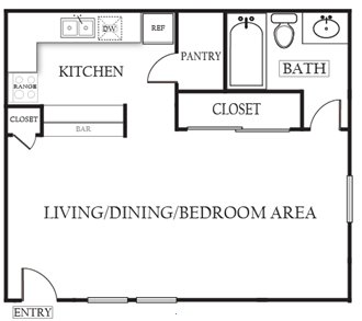 Studio 1 Bathroom Apartment for rent at The Arbors Of Arlington in Arlington, TX