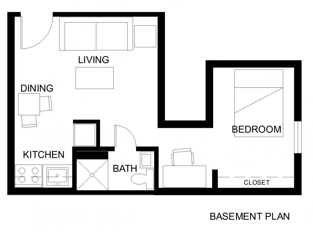 Studio 1 Bathroom Apartment for rent at 108 S 4th St in Champaign, IL