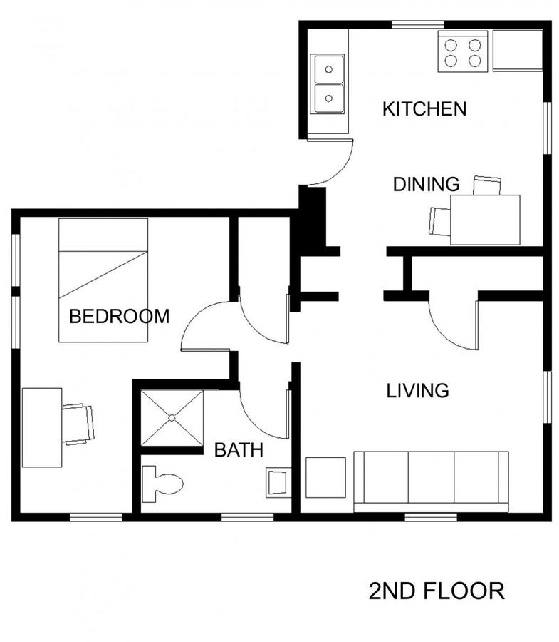 1 Bedroom 1 Bathroom Apartment for rent at 108 S 4th St in Champaign, IL