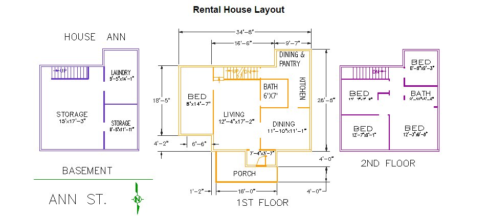 5 Bedrooms 2 Bathrooms House for rent at 420 Ann Street in East Lansing, MI