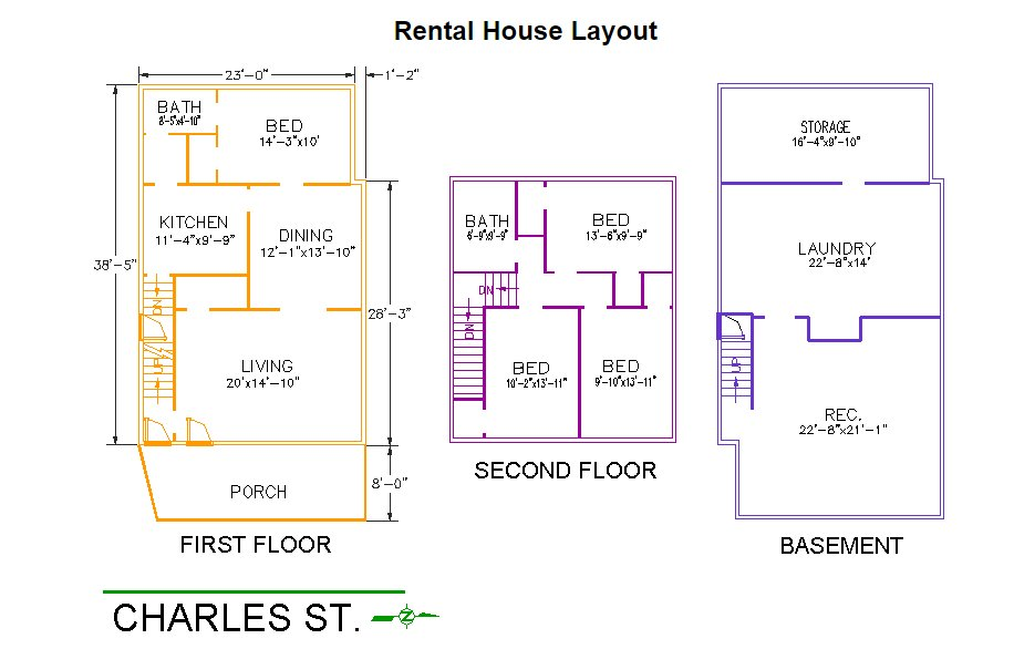 4 Bedrooms 2 Bathrooms House for rent at 326 Charles Street in East Lansing, MI