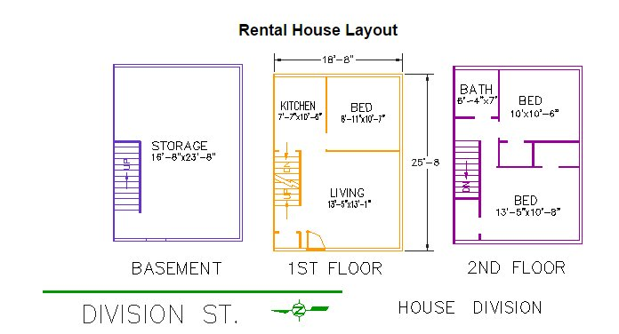 3 Bedrooms 1 Bathroom House for rent at 320 Division Street in East Lansing, MI