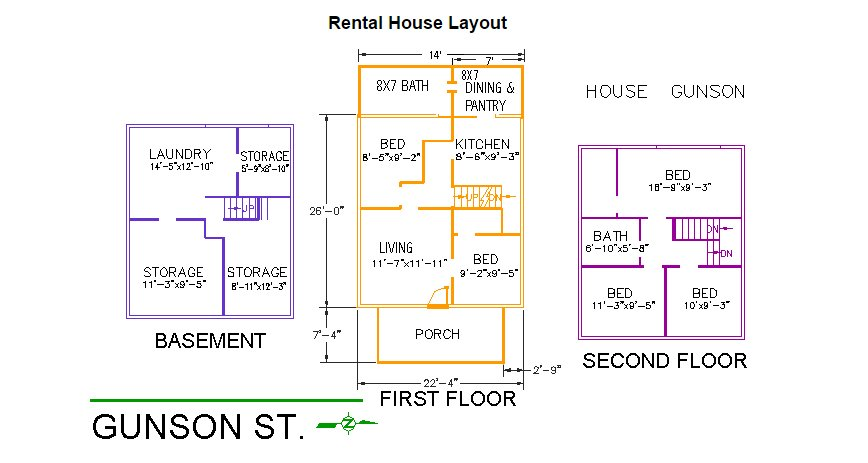 5 Bedrooms 2 Bathrooms House for rent at 165 Gunson Street in East Lansing, MI
