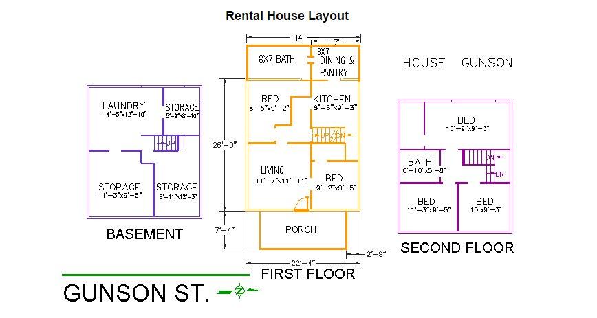 5 Bedrooms 2 Bathrooms House for rent at 165 Gunson Street in East Lansing, MI