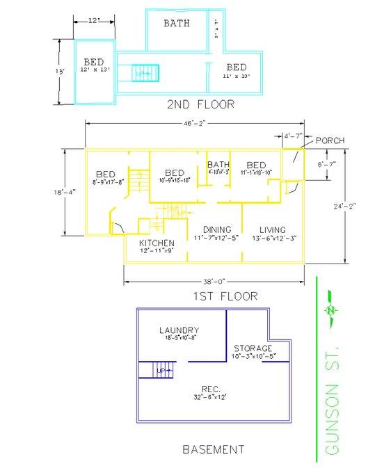 5 Bedrooms 2 Bathrooms House for rent at 234 Gunson Street in East Lansing, MI