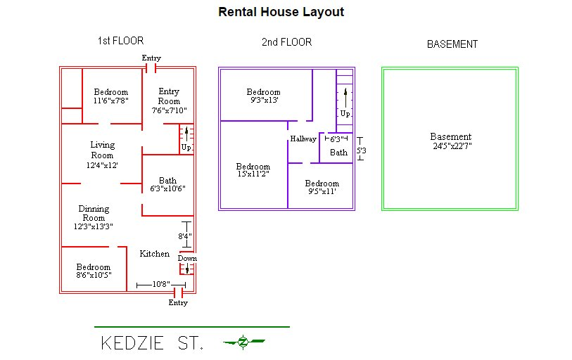 5 Bedrooms 2 Bathrooms House for rent at 240 Kedzie Street in East Lansing, MI