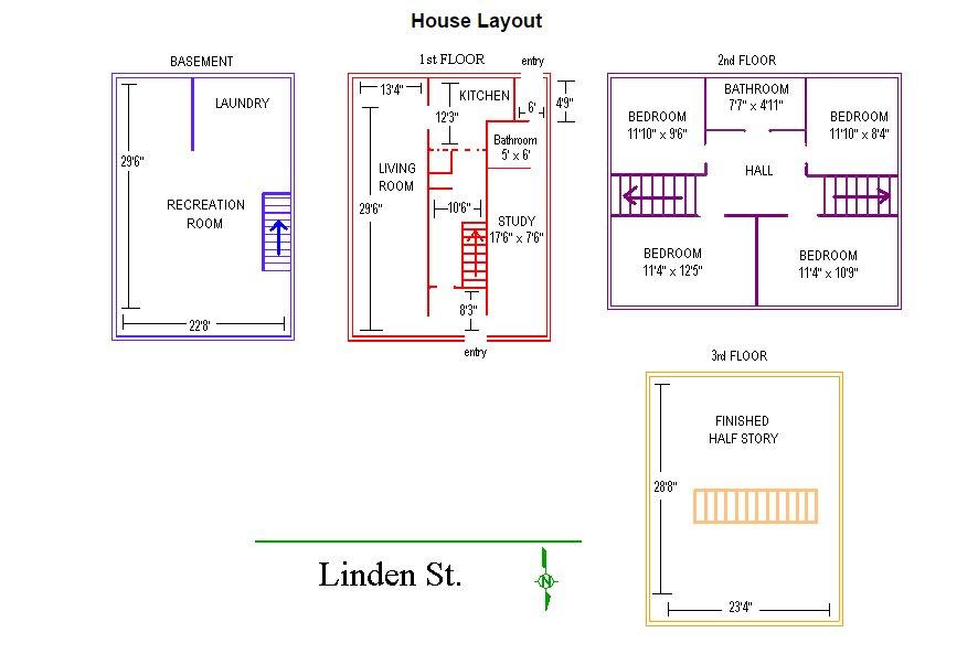 4 Bedrooms 2 Bathrooms House for rent at 421 Linden Street in East Lansing, MI