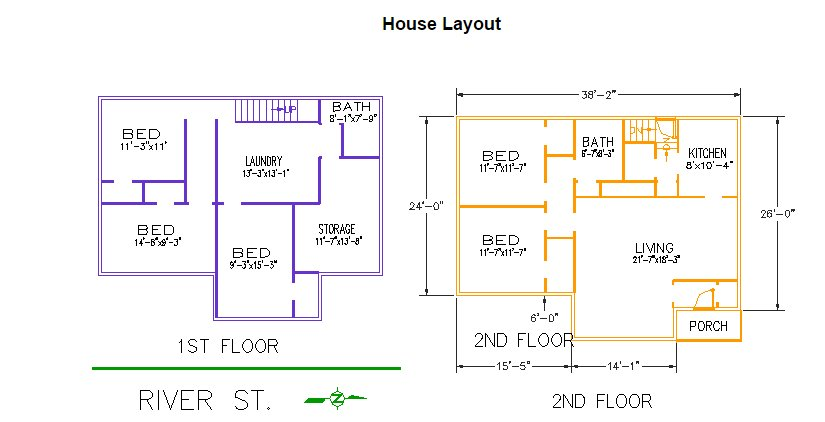 4 Bedrooms 2 Bathrooms House for rent at 230 River Street in East Lansing, MI