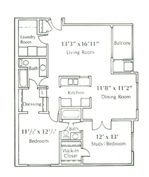 2 Bedrooms 2 Bathrooms Apartment for rent at Groesbeck Pines in Lansing, MI