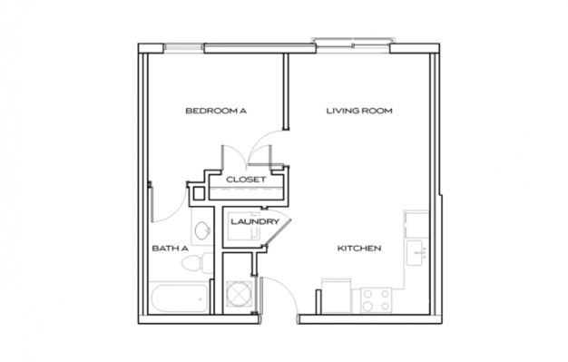 1 Bedroom 1 Bathroom Apartment for rent at The Standard At Knoxville in Knoxville, TN