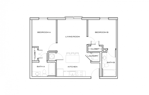 2 Bedrooms 2 Bathrooms Apartment for rent at The Standard At Knoxville in Knoxville, TN