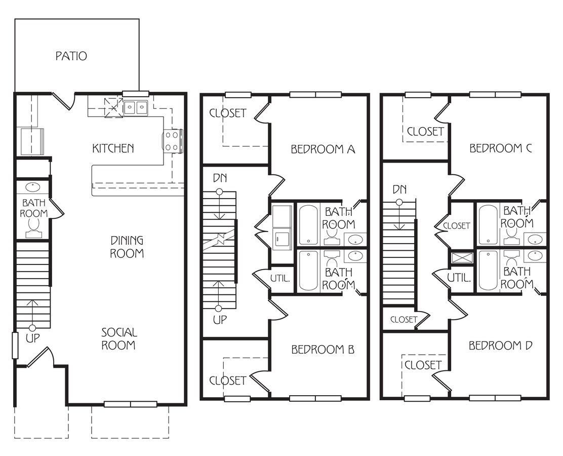 4 Bedrooms 3 Bathrooms Apartment for rent at Retreat At Corvallis in Corvallis, OR