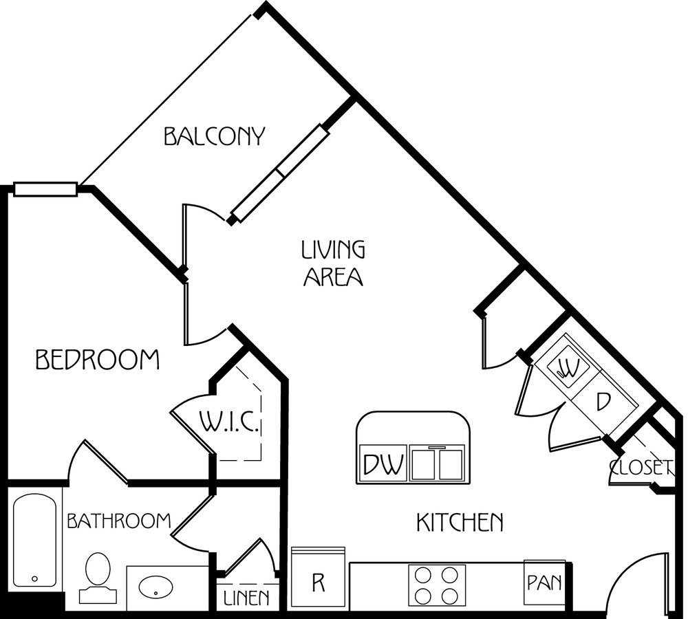 1 Bedroom 1 Bathroom Apartment for rent at Retreat At Corvallis in Corvallis, OR