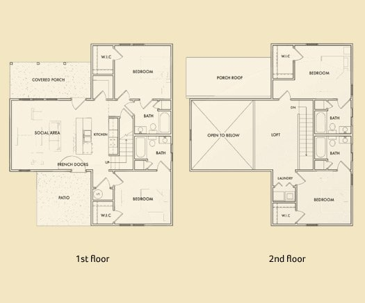 4 Bedrooms 3 Bathrooms Apartment for rent at Madison Heights in Athens, GA