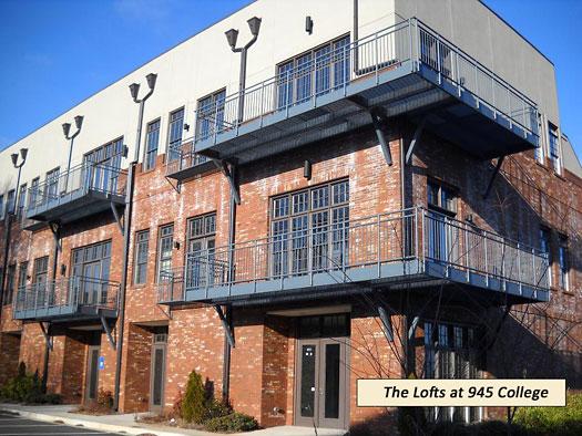 The Lofts At 945