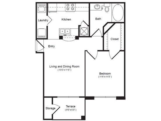 1 Bedroom 1 Bathroom Apartment for rent at 42 Magnolia in Columbia, SC