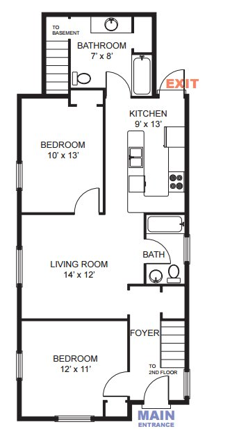 5 Bedrooms 3 Bathrooms House for rent at 1349 Geddes Ave in Ann Arbor, MI