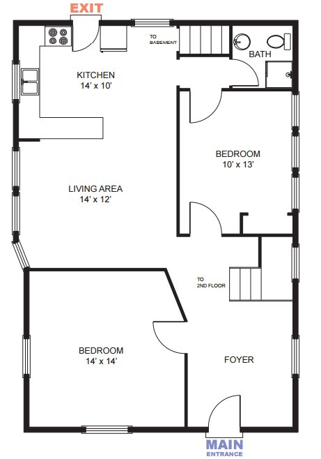 6 Bedrooms 2 Bathrooms House for rent at 717 Oakland Ave in Ann Arbor, MI