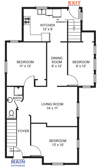 6 Bedrooms 2 Bathrooms House for rent at 1345 Geddes Ave in Ann Arbor, MI