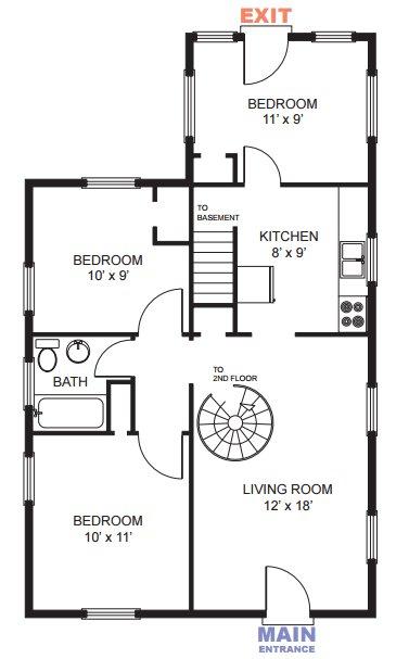 5 Bedrooms 1 Bathroom House for rent at 1009 E Ann St in Ann Arbor, MI