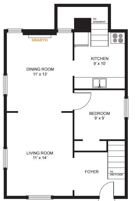 5 Bedrooms 2 Bathrooms House for rent at 908 E Ann Street in Ann Arbor, MI