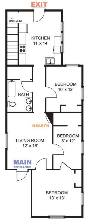 3 Bedrooms 1 Bathroom Apartment for rent at 1218 Washtenaw Ct in Ann Arbor, MI
