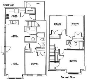 3 Bedrooms 2 Bathrooms Apartment for rent at Cambridge Heights Apartments in St Louis, MO
