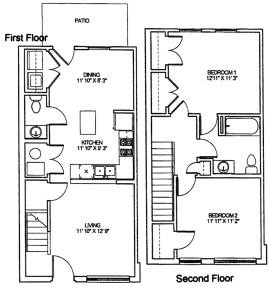 2 Bedrooms 2 Bathrooms Apartment for rent at Cambridge Heights Apartments in St Louis, MO