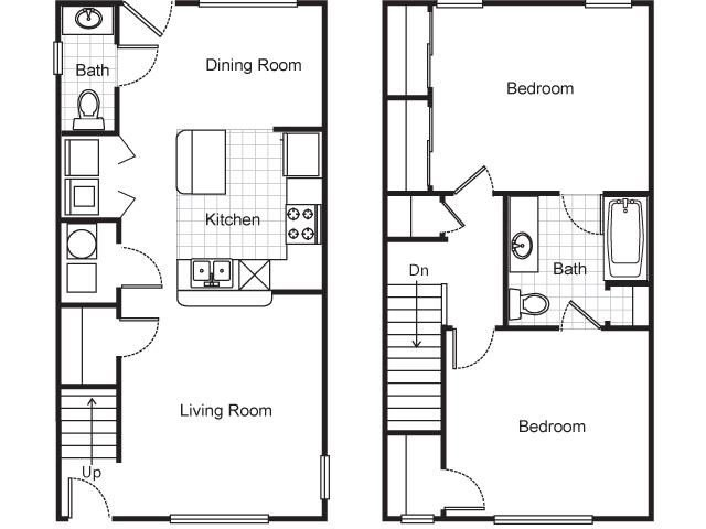 2 Bedrooms 2 Bathrooms Apartment for rent at Villa Del Sol Apartments in Kansas City, MO