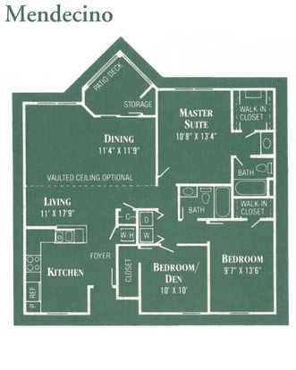2 Bedrooms 2 Bathrooms Apartment for rent at The Arbors in Dayton, OH