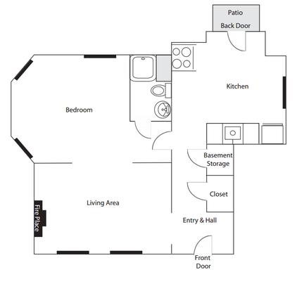 1 Bedroom 1 Bathroom Apartment for rent at 3145 Linwood in Cincinnati, OH