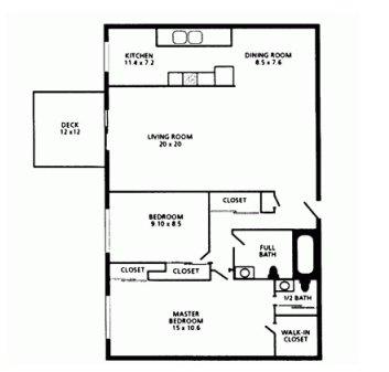 2 Bedrooms 2 Bathrooms Apartment for rent at Congress Run in Cincinnati, OH