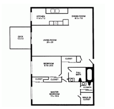 2 Bedrooms 2 Bathrooms Apartment for rent at Congress Run in Cincinnati, OH
