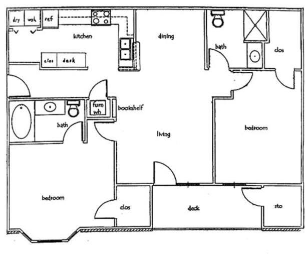 2 Bedrooms 2 Bathrooms Apartment for rent at Deer Valley Apartments in Columbia, MO
